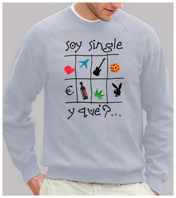 Soy single - Sudadera Fruit